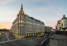 Hotel Baltschug Kempinski. Moscow. Russia. Hotel Baltschug Kempinski Stock Photos