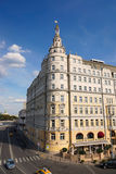 Hotel Baltschug Kempinski moskou royalty-vrije stock foto