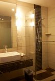 Hotel Bathroom Stock Photography