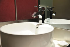 Hotel bathroom interior Stock Images