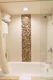 Hotel bathroom interior Royalty Free Stock Photos