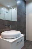 Hotel bathroom sink Royalty Free Stock Image