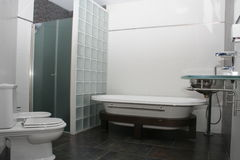 Hotel Bathroom. View of a hotel bathroom Stock Photography