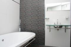 Hotel Bathroom. View of a hotel bathroom Royalty Free Stock Photos