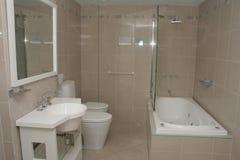 Hotel Bathroom. View of a hotel bathroom Royalty Free Stock Image