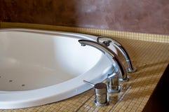 Hotel Bathtub Royalty Free Stock Photos