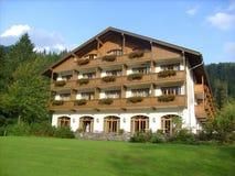 Hotel bavarese lussuoso Fotografia Stock Libera da Diritti