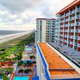 Hotel Beach Runway Stock Photos
