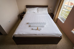 Hotel Bed Royalty Free Stock Image