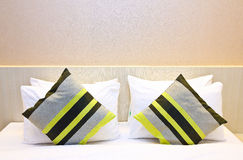 Hotel bed Royalty Free Stock Images