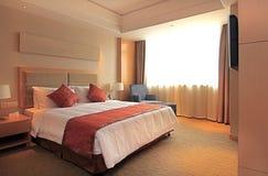 Hotel bedroom Royalty Free Stock Photo