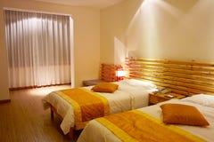 Hotel bedroom Stock Image