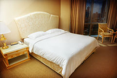 Hotel bedroom Royalty Free Stock Photography