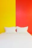 A hotel bedroom Stock Photos