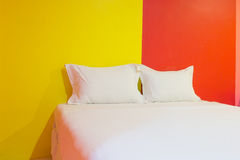 A hotel bedroom Royalty Free Stock Photo