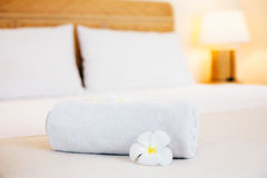Hotel bedroom details Royalty Free Stock Photography