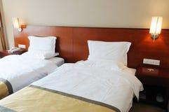 Hotel Bedroom interior Stock Photography