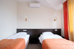 Hotel bedroom Royalty Free Stock Images