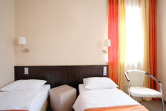 Hotel bedroom Royalty Free Stock Image