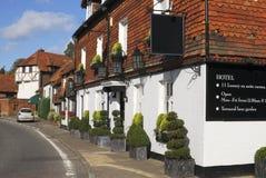 Hotel bei Chiddingfold. Surrey. Großbritannien Stockfotografie
