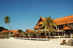 Hotel bei Redang Lizenzfreies Stockfoto