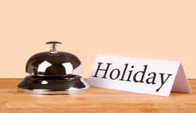 Hotel bell holiday Stock Image
