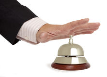 Hotel bell isolated Royalty Free Stock Image