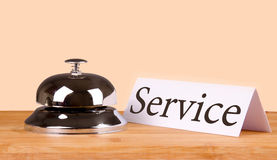 Hotel bell service Royalty Free Stock Photos