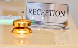 Hotel bell stock photography