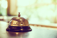 Hotel bell Royalty Free Stock Photography