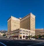 Hotel Bens Lomond in Ogden Utah Stockfotografie