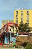 Hotel, Berlino, Germania fotografie stock