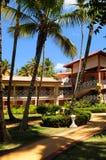 Hotel bij tropische toevlucht Royalty-vrije Stock Fotografie