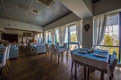 hotel Binnenlands Een restaurant Royalty-vrije Stock Foto