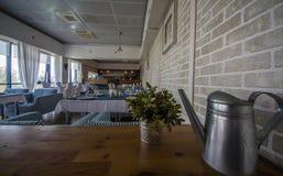 hotel Binnenlands Een restaurant Stock Fotografie