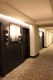 Hotel binnenlandse gang Royalty-vrije Stock Foto