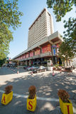 Hotel in the center of Varna Royalty Free Stock Images
