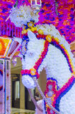 Hotel-Blumeninstallation Las Vegass Wynn Lizenzfreie Stockfotografie