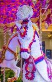 Hotel-Blumeninstallation Las Vegass Wynn Stockbilder