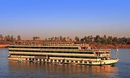Hotel boat cruising Stock Photo