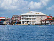 Hotel in Bocas del Toro Royalty Free Stock Photos
