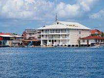 Hotel in Bocas del Toro Royalty Free Stock Photos