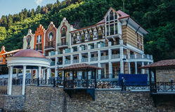 Hotel in Borjomi Royalty Free Stock Photo