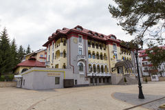 Hotel Boulevard Royalty Free Stock Photo