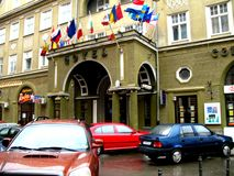 Hotel in Brasov Royalty Free Stock Photo