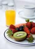 Hotel breakfast Royalty Free Stock Images