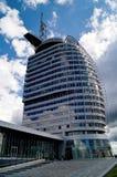 Hotel Bremerhaven della città della vela Immagini Stock