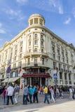 Hotel Bristol in Krakowskie Przedmiescie, Warsaw Royalty Free Stock Images