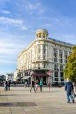 Hotel Bristol in Krakowskie Przedmiescie, Warsaw Stock Photo