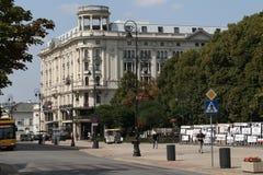 Hotel Bristol, Varsovia fotografía de archivo